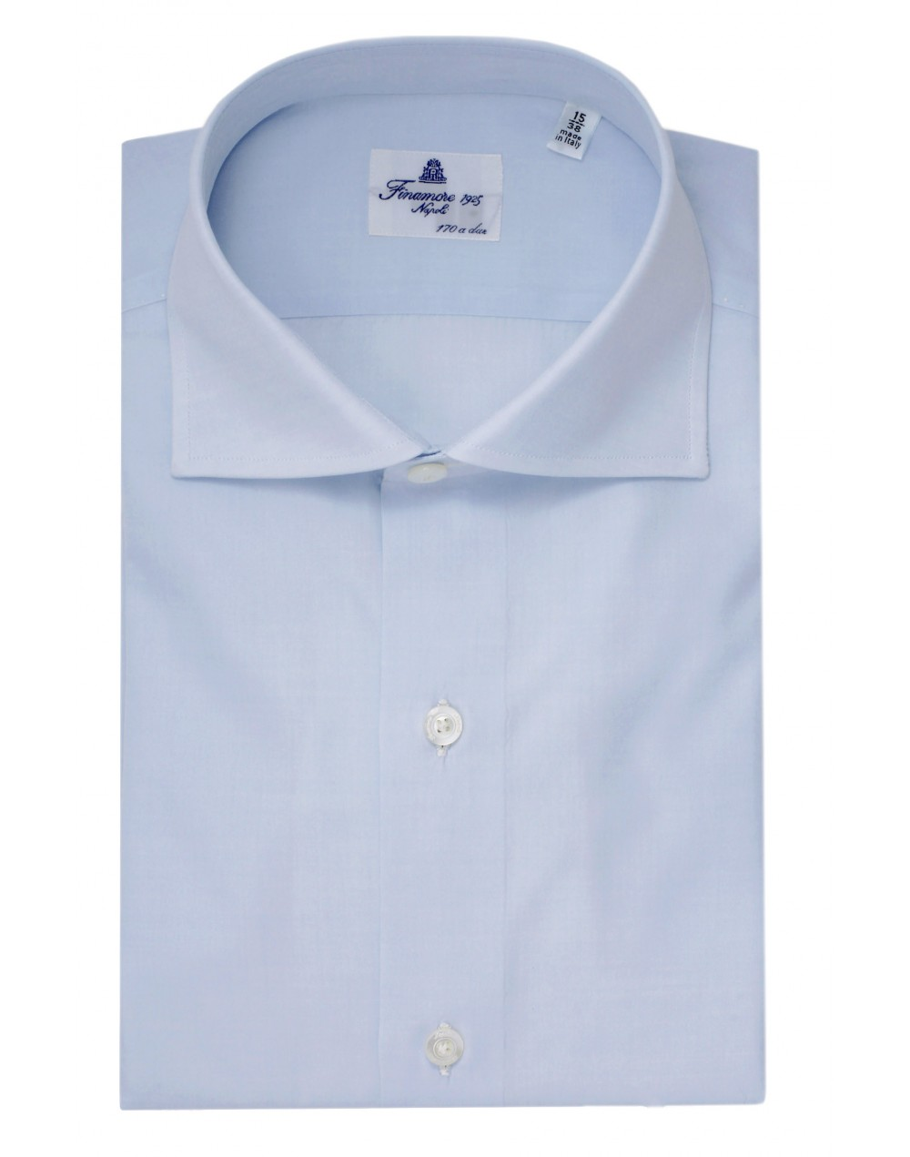 Dress shirt Napoli170/2 spread collar Zante Light blue