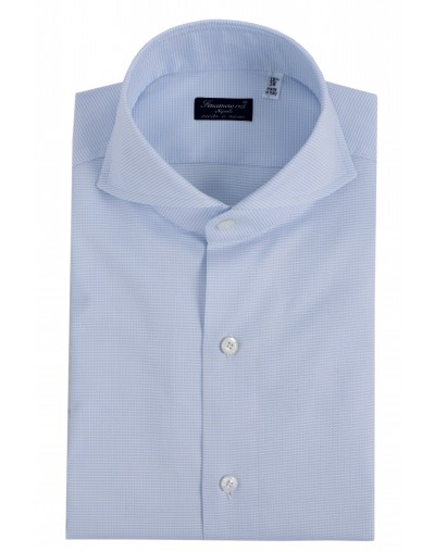 Dress shirt Finamore 1925 Napoli regular fit Sergio collar