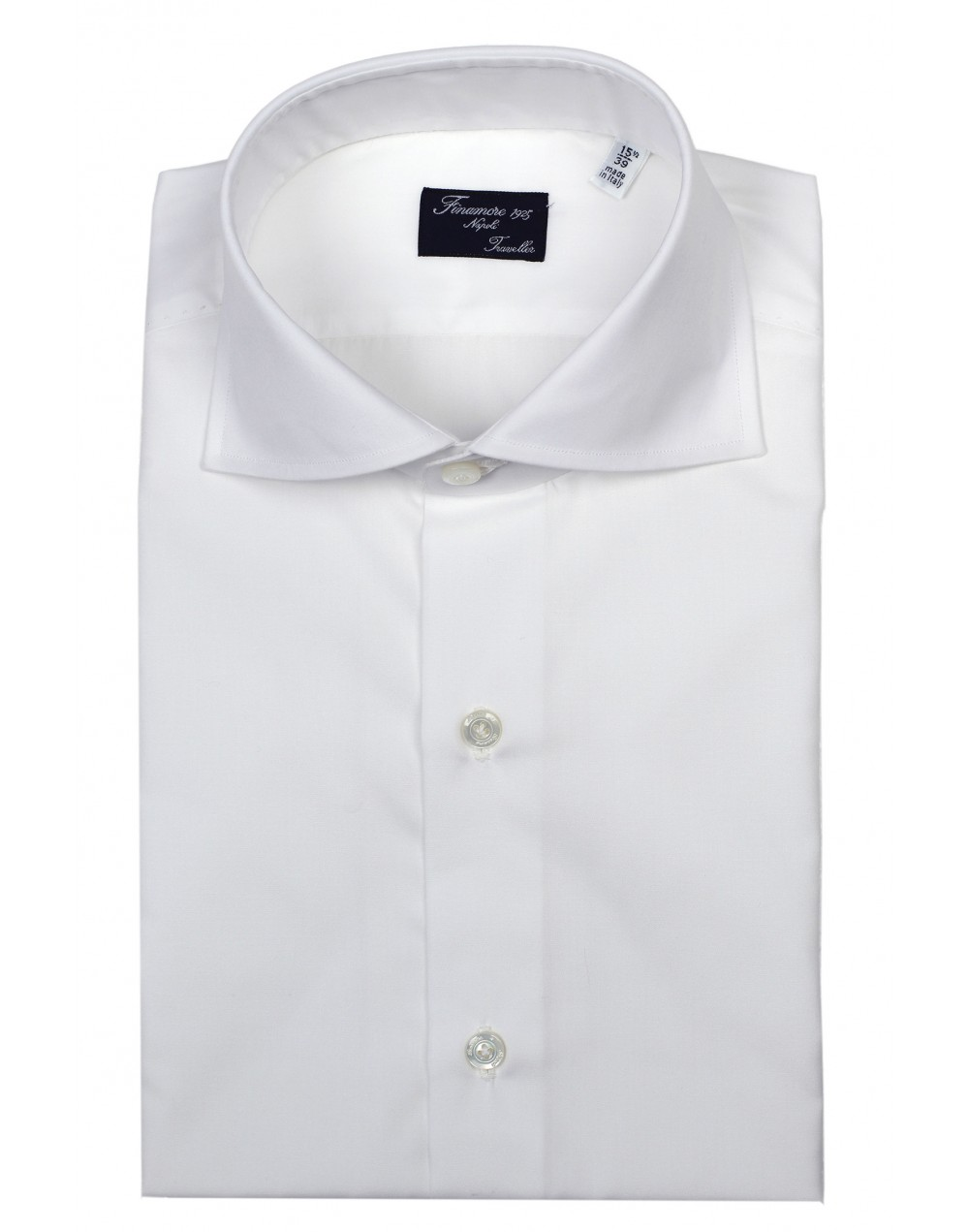 Dress shirt Napoli 14919801Eduardo popeline traveller